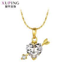ส่วนลด Xuping Jewelry ห่วงโซ่กระดูกไหปลาร้ายุโรปและอเมริกาสร้อยคอหญิง Xuping Jewelry ใน ฮ่องกง