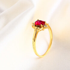 ขาย Xuping Jewelry แหวนยุโรปและอเมริกาเพทายสังเคราะห์ ผู้ค้าส่ง