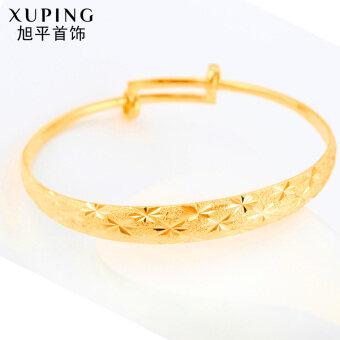 XUPING JEWELRY หญิงชาย Tianxing ทองลุ่มน้ำเจ้าสาวเด็กสร้อยข้อมือสร้อยข้อมือทอง