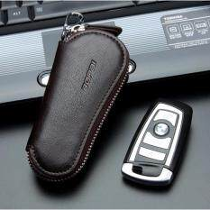 ราคา Y And L Support กระเป๋าหนังวัว สำหรับใส่พวงกุญแจ เกรดพรีเมี่ยม สีน้ำตาล Bag For Keychain S62 Brown ถูก