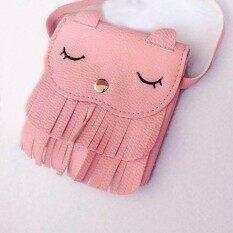 Ybc น่ารักเด็กหญิงขนาดเล็ก Cat Messenger กระเป๋าสะพายไหล่ - Intl.