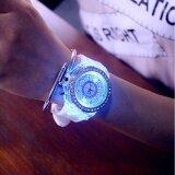 ราคา Ybc ผู้หญิงเรืองแสง Led นาฬิกาแฟชั่นเพชรซิลิโคนเจล ใน Thailand