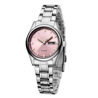 YBC สายนาฬิกาสเตนเลสนาฬิกานาฬิกากันน้ำควอตซ์นาฬิกาข้อมือของขวัญ - นานาชาติ-