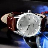ราคา Yidabo New Man Men S Quartz Wrist Watches With Auto Date Display Function Dial Band White Coffee ออนไลน์ จีน