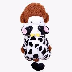 Yika สุนัขสัตว์เลี้ยงขนาดเล็กกำมะหยี่เสื้อผ้าที่อบอุ่นในฤดูหนาวแฟชั่นเครื่องแต่งกาย Puppy Cat เสื้อผ้าเครื่องแต่งกาย (ขนาด: Xl) By Yikahome.