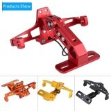 ราคา Yosoo Motorcycle Adjustable Aluminum License Plate Frame Bracket With Light Red Intl ออนไลน์ จีน