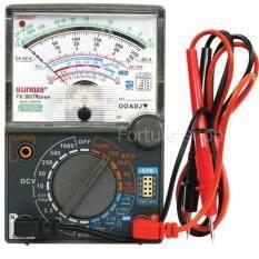 ซื้อ อนาล็อค มัลติมิเตอร์ Analog Multimeter Yx 360Tres B H วัดกระแสไฟฟ้า วัดแรงดันไฟฟ้า วัดความต้านทาน วัดความต่อเนื่อง วัด Hfe ทรานซิสเตอร์ Forture