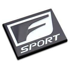 โปรโมชั่น Z Direct F Sport Car Logo Stickers 3D Metal Emblem Refitting Badge Sticker Car Styling Auto Decoration Accessories For Lexus Rx Es Is Intl Unbranded Generic ใหม่ล่าสุด
