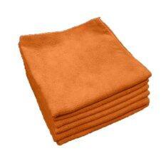 ทบทวน Dupro ผ้าไมโครไฟเบอร์ เกรด A ขนาด 40X40 ซม สีส้ม แพค 6 ผืน