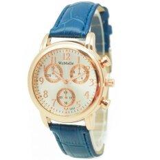 ขาย Zazzy Dolls นาฬิกาข้อมือผู้หญิง หน้าปัดดีไซน์เก๋ สไตล์แบรนด์ดัง สายหนังสีน้ำเงิน รุ่น Zd 0089 สีน้ำเงิน Blue Zazzy Dolls