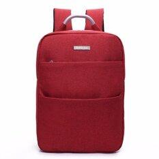 ราคา Zip Go 15 6 Notebook Backpack With Usb Recharging Port Grey Black
