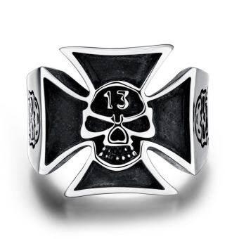 เพทายแหวนสแตนเลสผู้ชายเครื่องประดับทองเงินชุบทองคำขาวสำหรับผู้ชาย - ํ 8 - นานาชาติแหวนแหวนผู้ชายแหวนแฟชั่นผู้ชาย
