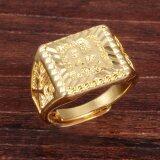 ซื้อ Zuncle ผู้ชาย 18 พันทองชุบย้อนยุคทองแหวน ทอง Zuncle เป็นต้นฉบับ