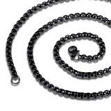 ราคา Zuncle เรโทรชายโซ่สเตนเลสทรงสร้อยคอมุก สีดำ ที่สุด