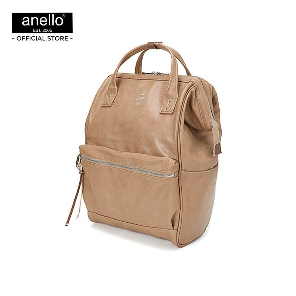 กระเป๋า anello  Premium Mouthpiece Backpack_AT-B1511-BE