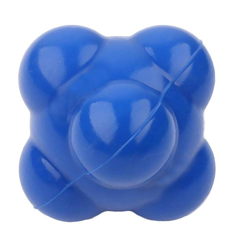 Silicone Hexagonal Ball Agility Coordination Reflex Exercise Fitness Ball Training Reaction Ball