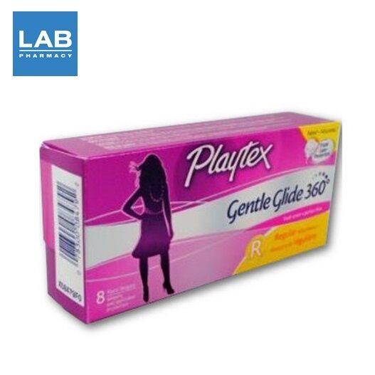 Playtex Gentle Glide 360 Regular 8 tampons - ผ้าอนามัยแบบสอด รุ่น Regular