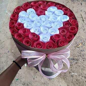 ช่อดอกไม้กระดาษราคาถูก  100 บาท