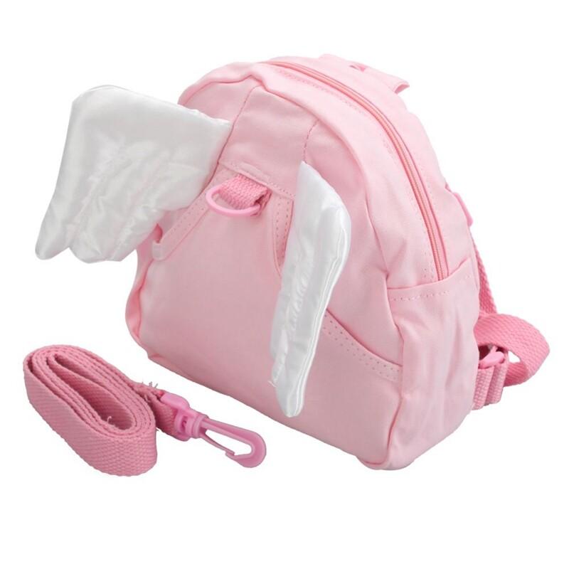 Mã Giảm Giá Baby Children Infant Toddler Kids Angel Wings Walking Safety Backpack Bag Harness Learning Learn To Walk Walker Assistant Helper