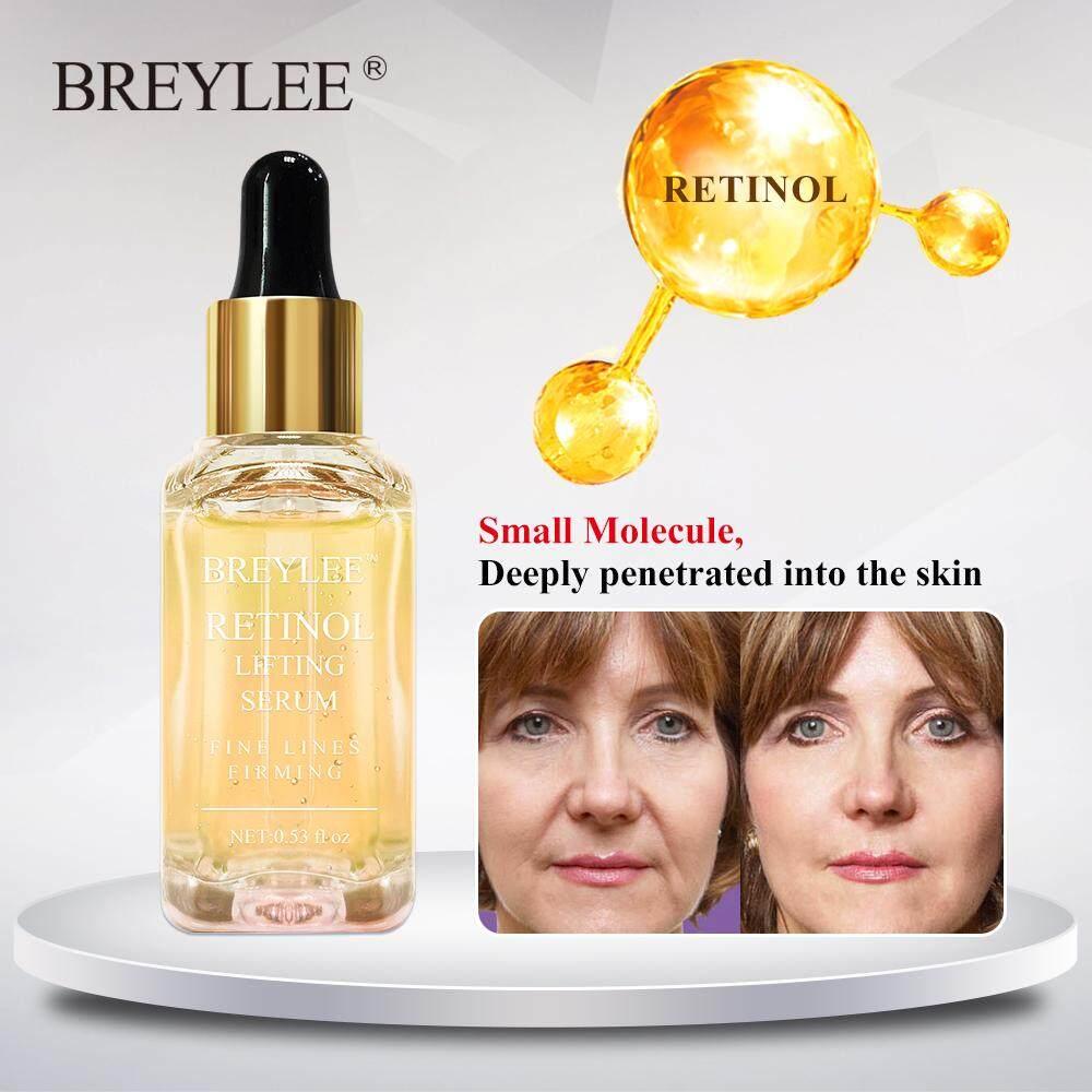 BREYLEE เซรั่มบำรุงผิว เซรั่มต่อต้านริ้วรอย ให้ความชุ่มชื้น ลดเลือนริ้วรอย Retinol Lifting Firming Serum Face Collagen Essence Remove Wrinkle Anti Aging Facial Skin Care Fade Fine Lines Repairing