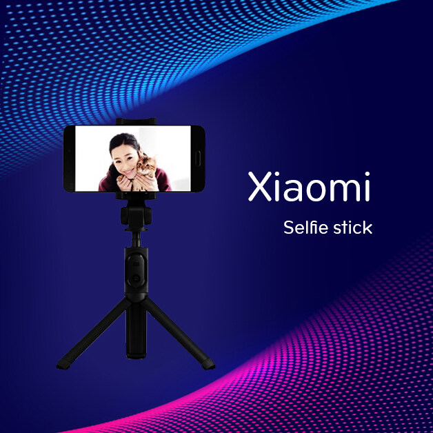 [พร้อมส่ง]original Product Xiaomi Selfie Stick Wire-Controlled Version Of The Bracket Type Mini Portable Multi-Function Selfie Stick Auto Arranger Camera Artifact Live Tripod Suitable For Huawei Apple Xiaomi Mobile Phone Universal.