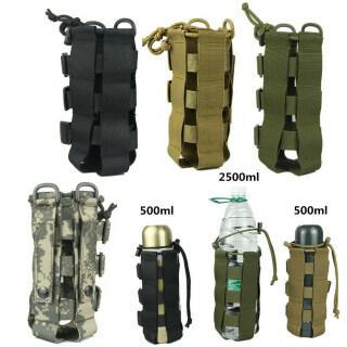 Durable Tactical Molle, Túi Đựng Đồ Du Lịch Ngoài Trời Túi Giữ Nước Chai Nước Chủ Nước Chai Pouch Ấm Đun Nước Túi thumbnail
