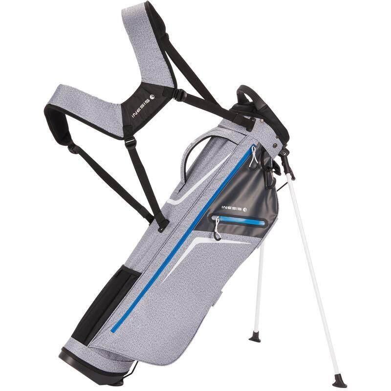 Golf Bag กระเป๋าใส่ไม้กอล์ฟ ถุงกอล์ฟน้ำหนักเบาพิเศษ สำหรับไม้กอล์ฟ 14 อัน มีช่องกระเป๋า 6 ช่อง By Frankyshop.