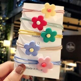 Korean Version of Yaya Hair Rope Hair Ring Girl Cute Colorful Rubber Band Candy Color Hair Accessories thumbnail