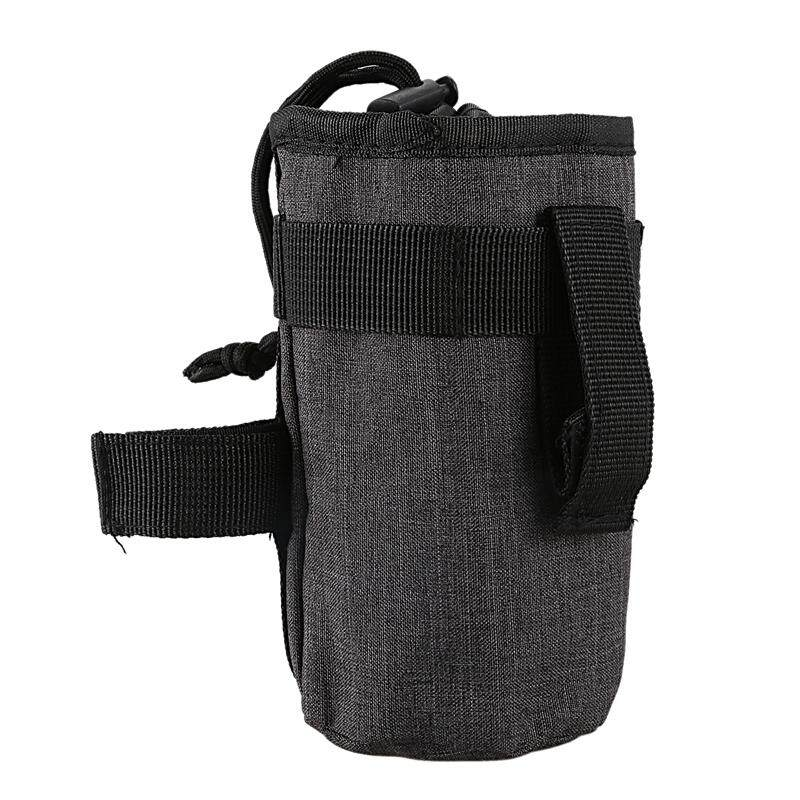 Bảng giá Bicycle Handlebar Bag Front Tube Bag Cycle Bike Kettle Insulated Bag Bike Water Bottle Pocket Bicycle Bottle Bag Bike Accessories-Gray