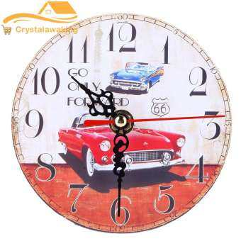 นาฬิกาผนังรถวินเทจ