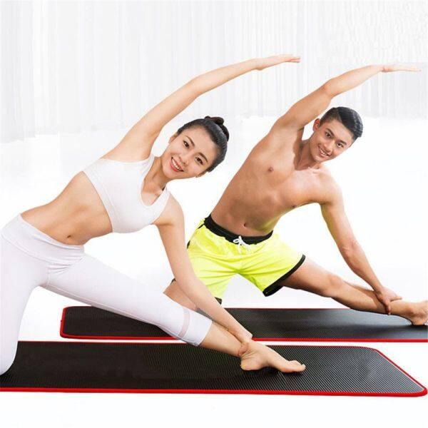DUANSHI Túi Thảm Tập Yoga Dày 10Mm Đa Năng Thảm Tập Thể Dục NBR Chống Trượt Chống Rách Đệm Tập Gym Pilates, Thảm Yoga