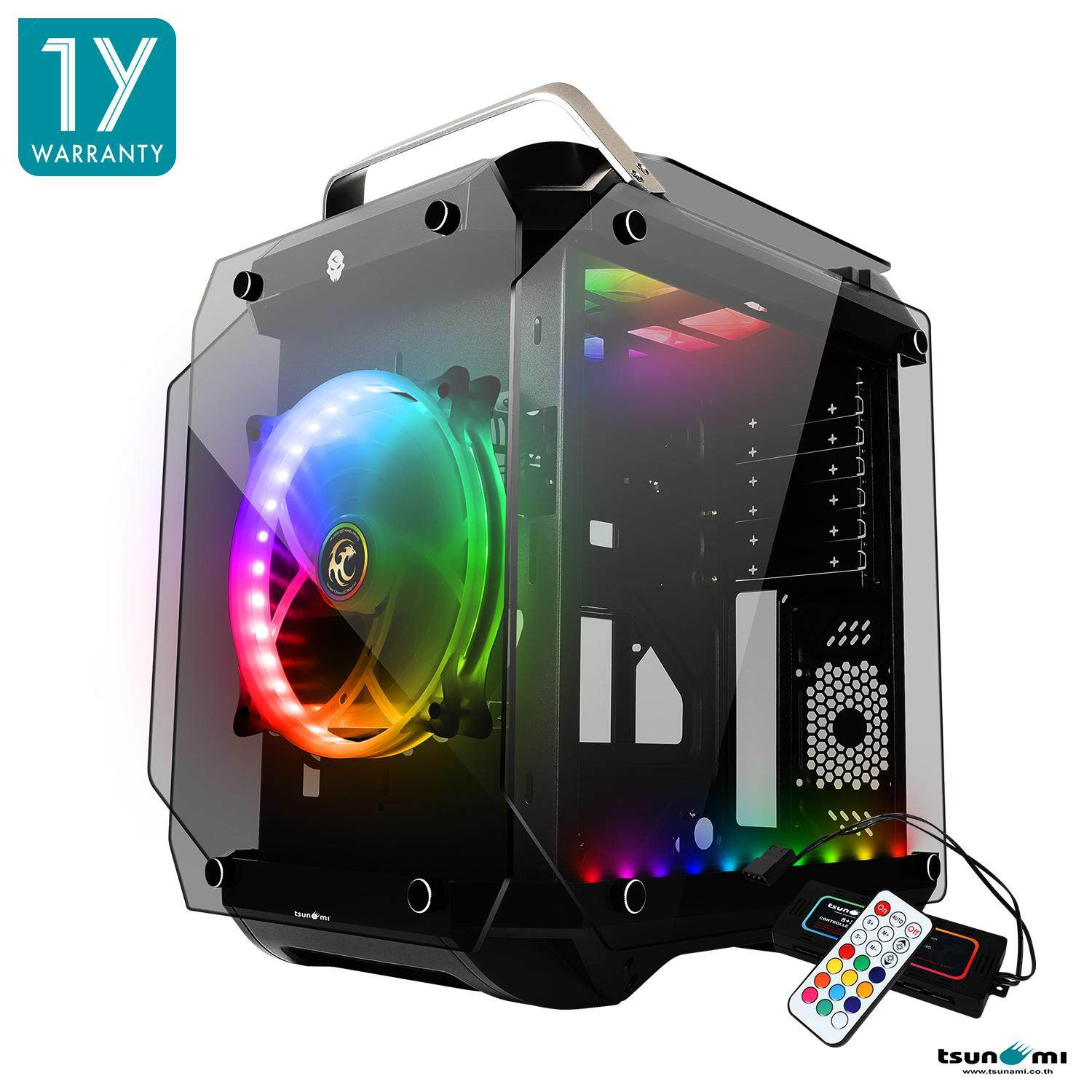 Tsunami Coolman Gorilla Super Atx ( Best Aero-Cooling Solution) Gaming Computer Case Rgb By Fun Republic Co.,ltd..