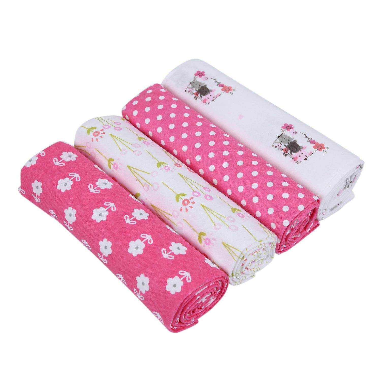 4 Pieces/Batch Cotton Baby Soft Newborn Baby Baby Blanket Baby Blanket Newborn Baby Wrap Baby Girl