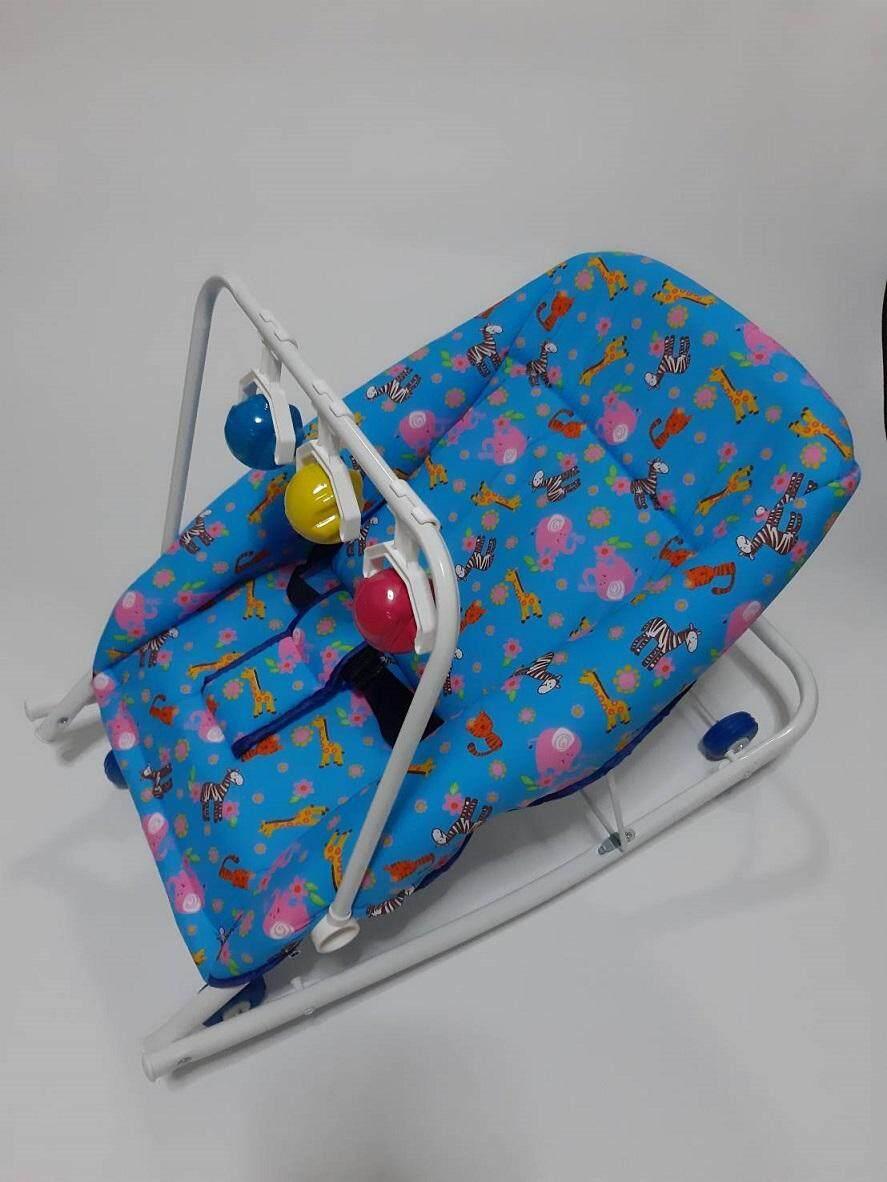D-Plus เปลโยก เด็กอ่อน ปรับระดับได้ 2ระดับ DPBT01-2 มีของเล่น