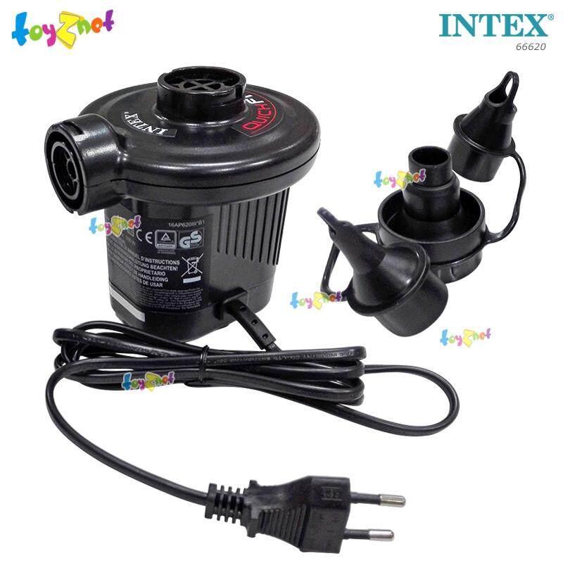 Intex ส่งฟรี ที่สูบลมไฟฟ้า ควิ๊ก ฟิวล์  Thermo Protector รุ่น 66620.