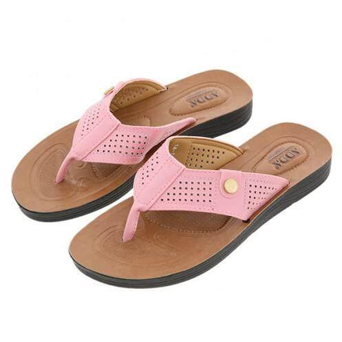 แอ๊ดด้า รองเท้าแตะสตรี รุ่น 71Y01-W1 สีชมพู ขนาด 40