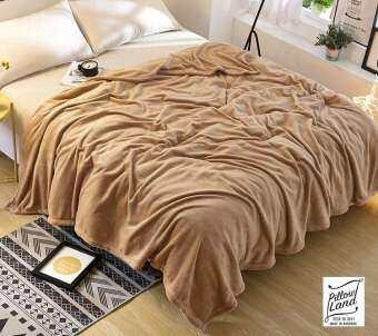 ผ้าห่มนาโน ผ้าหนานุ่ม ขนาด 180x220 cm.- Nano 206-