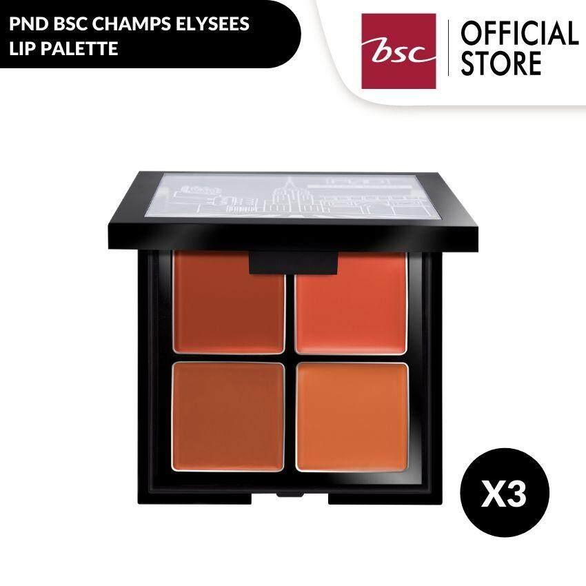 Pnd Bsc Champs Elysees Lip Palette ลิปพาเลทเนื้อเนียนนุ่ม ให้สีสดชัด ช่วยบำรุงให้ริมฝีปากเนียนนุ่ม แลดูสุขภาพดี.