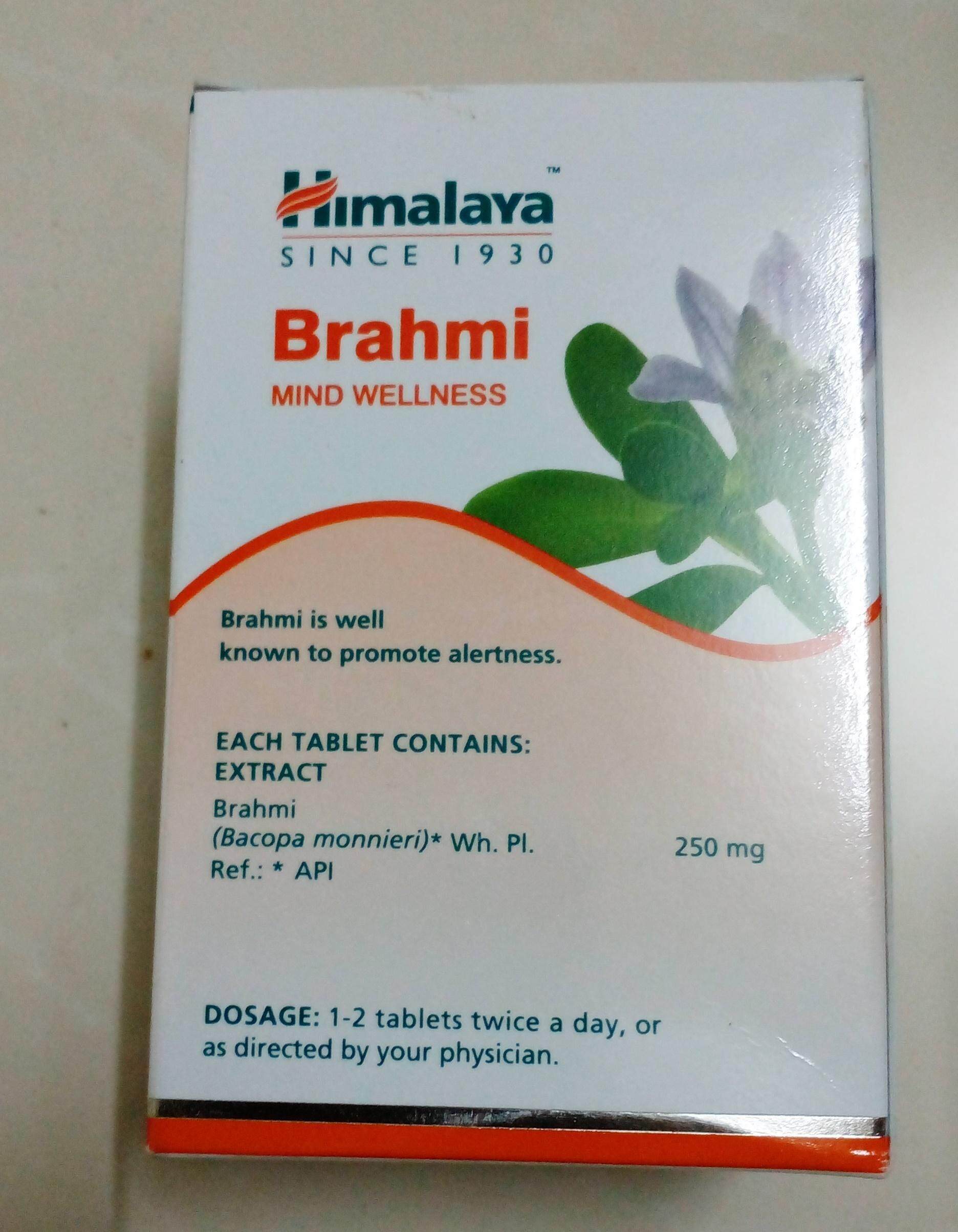 Himalaya Brahmi  60 เม็ด พรมมิ