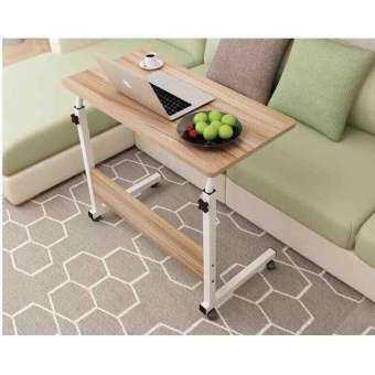 GoodLuck  80*40 โต๊ะ โต๊ะทำงาน โต๊ะคอม โต๊ะข้างเตียง โต๊ะวางโน้ตบุ๊ก โต๊ะวางของอเนกประสงค์ โต๊ะปรับระดับ table4-
