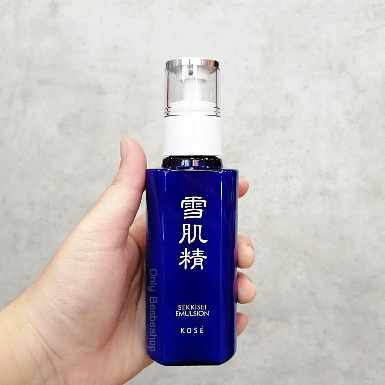ซื้อที่ไหน ล็อตผลิต 01/2019 Kose น้ำนมถนอมผิว Sekkisei Emulsion 140ml