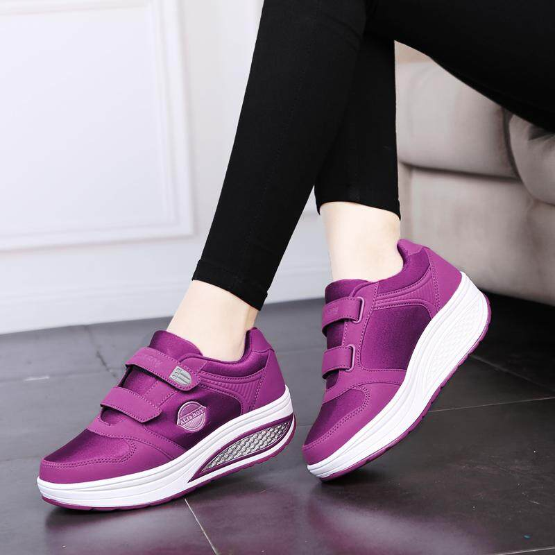 Ali&boy รองเท้าผ้าใบเพื่อสุขภาพ น้ำหนักเบา ใส่สบาย มีแถบเมจิกเทปลอกแปะ ถอดใส่ง่าย By Bedding 3d.