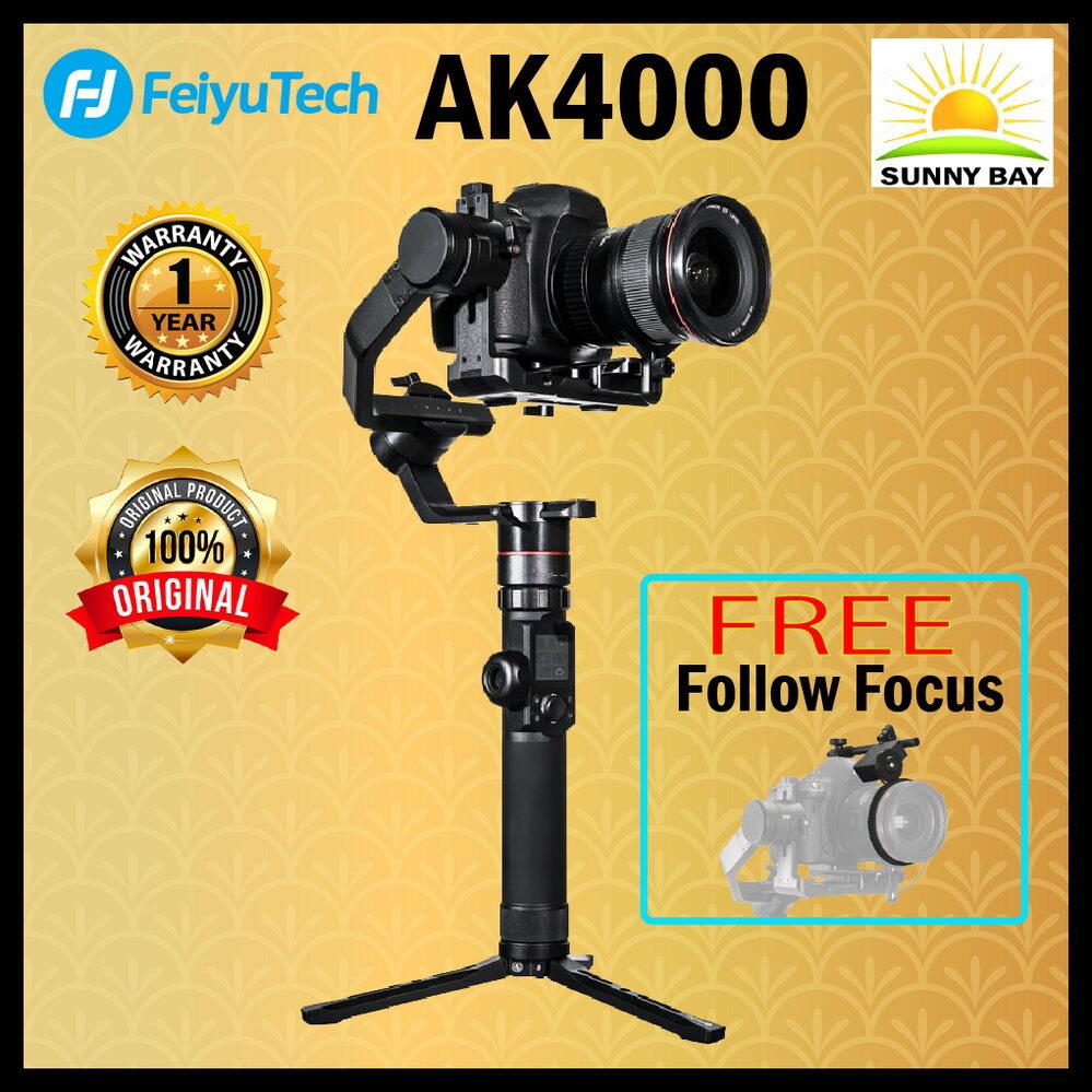 Feiyutech Ak4000 ไม้กันสั่น 3 แกน สำหรับกล้อง Mirrorless, Dslr (free Follow Focus) (รับประกัน 1 ปี).