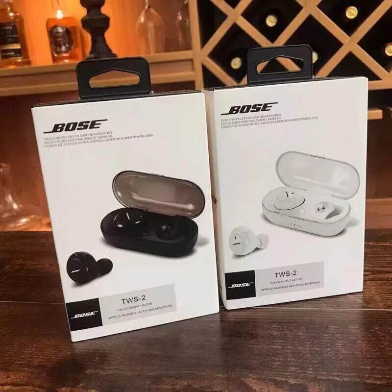 Bose Tws-2 ใช้ได้กับมือถือทุกรุ่นที่มีบลูทูธ Wireless Headphones Sports Tws หูฟัง บลูทูธ Bluetooth 5.0เบสแน่น พร้อมฟังก์ชันตัดเสียงรบกวนน.