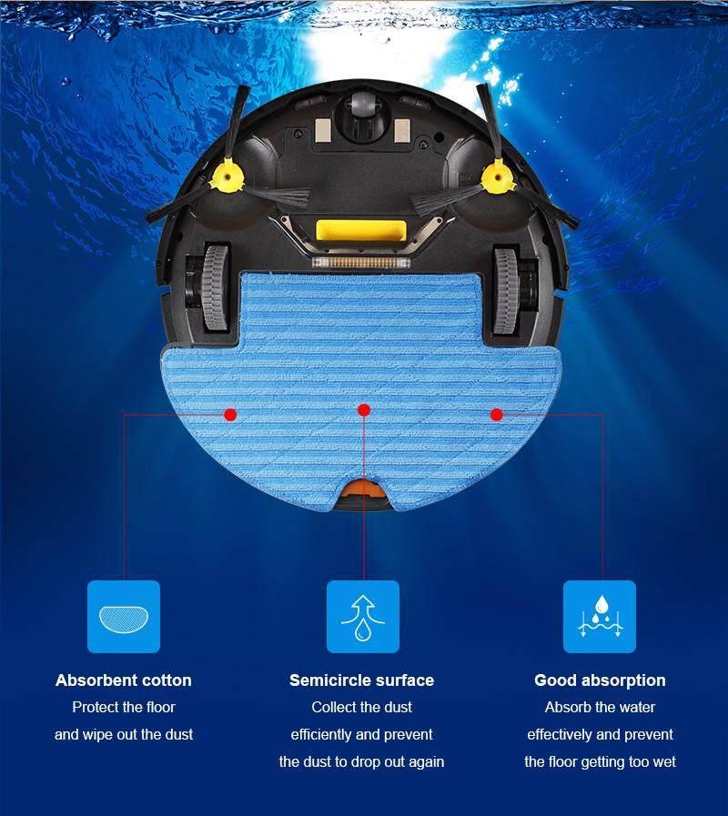 ขาย  Liectroux Q8000 หุ่นยนต์ดูดฝุ่นและถูพื้นแบบแท็งค์น้ำ ระบบ Wifi Gyro-Mapping UV ฉลาดอย่างมีระเบียบ BY DigilifeGadget คูปองส่วนลด 2019