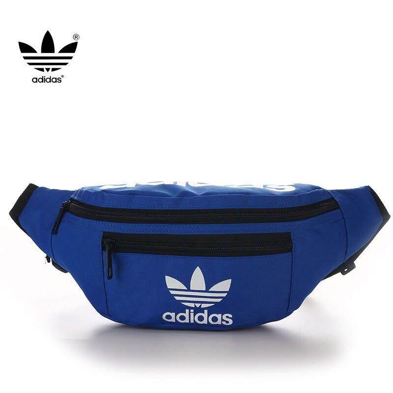 Adidas กระเป๋าวิ่งกระเป๋าสะพาย Man And Women Travel Waist Bag.
