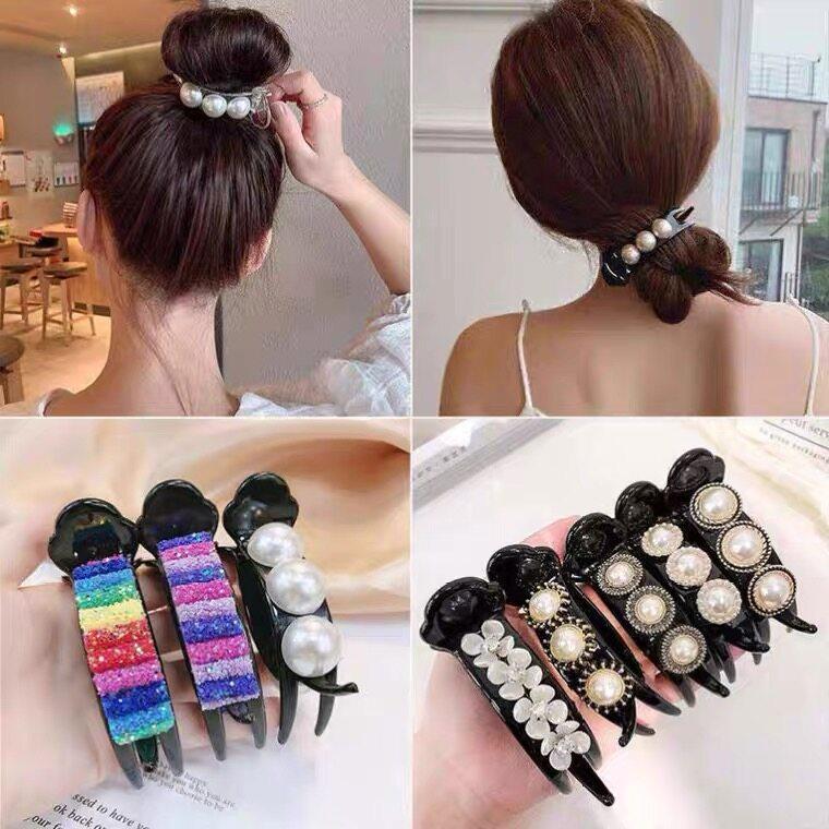 กิ๊บสายรุ้งกิ๊บเก๋กิ๊บเก๋สำหรับผู้หญิงเครื่องประดับผมที่คาดผม Rainbow Hairpin Stylish Hair Clips For Women Sweet Barrettes Headband Hair Accessories.