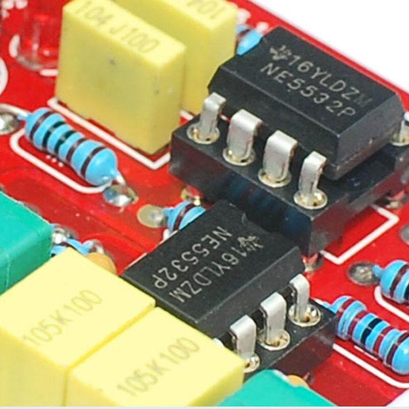 HIFI OP-AMP Preamplifier Amplifier Volume EQ Tone Control Board DIY Kits NE5532