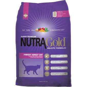 1 kg. - Nutra Gold Holistic Finicky Adult อาหารแมวโต โฮลิสติก สำหรับแมวกินยาก บำรุงขน กล้ามเนื้อ-