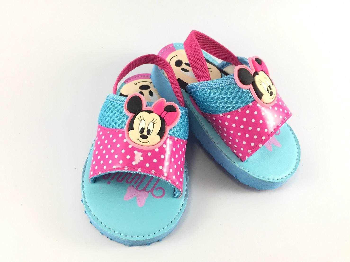 รองเท้าแตะeva สวมรัดส้นเด็กหัดเดิน ลาย Baby Minnie By Shou Group International Co.,ltd..